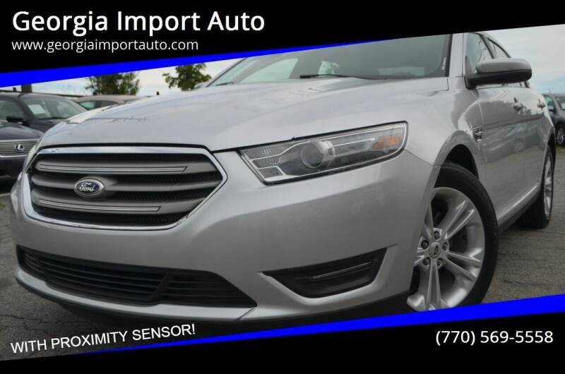 2013 Ford Taurus for sale at Georgia Import Auto in Alpharetta GA