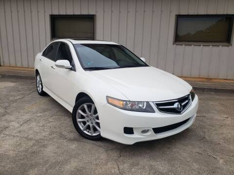 2008 Acura TSX for sale at M & A Motors LLC in Marietta GA