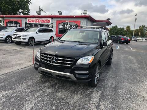 2013 Mercedes-Benz M-Class for sale at CARSTRADA in Hollywood FL