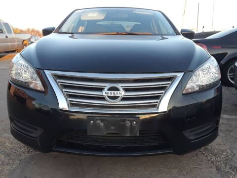 2015 Nissan Sentra for sale at Auto Haus Imports in Grand Prairie TX