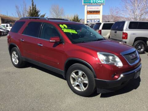 2009 GMC Acadia for sale at Small Car Motors in Carson City NV