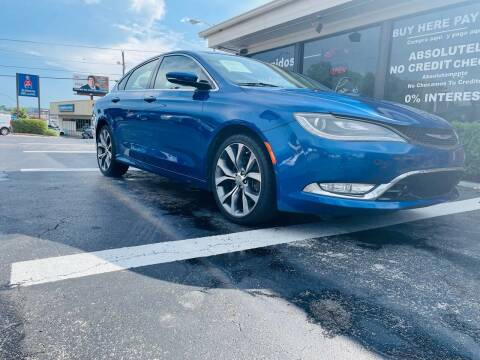 2015 Chrysler 200 for sale at Guidance Auto Sales LLC in Columbia TN
