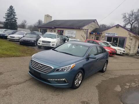 2015 Hyundai Sonata for sale at SUPERIOR AUTO MART in Amelia OH