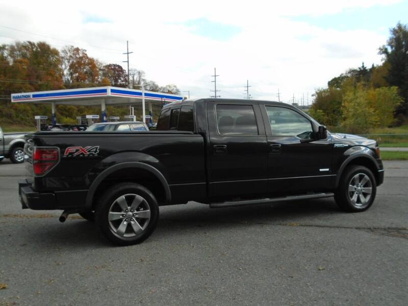 2012 Ford F-150 4x4 FX4 4dr SuperCrew Styleside 6.5 ft. SB - Westminster MD