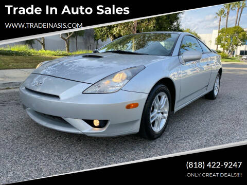 2005 Toyota Celica for sale at Trade In Auto Sales in Van Nuys CA
