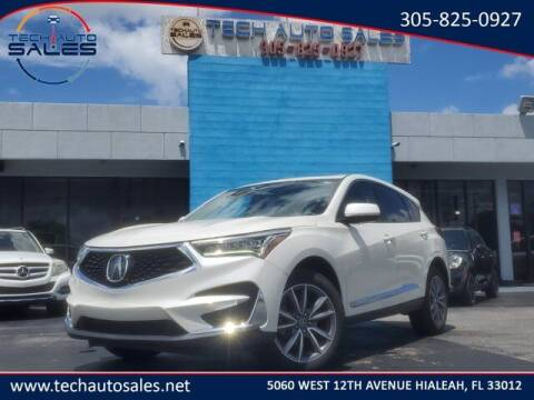 2019 Acura RDX for sale at Tech Auto Sales in Hialeah FL