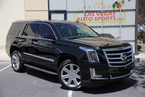 2015 Cadillac Escalade for sale at Las Vegas Auto Sports in Las Vegas NV