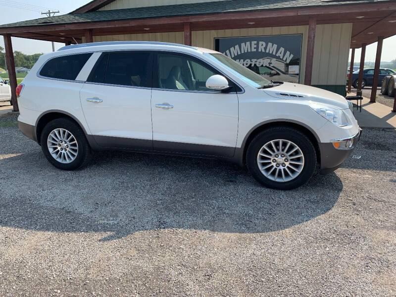 2012 Buick Enclave for sale at Zimmerman Motors LLC in Wathena KS