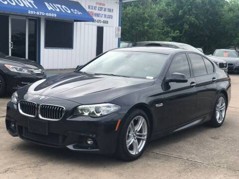 2014 BMW 5 Series for sale at Discount Auto Company in Houston TX