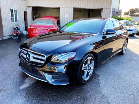 2017 Mercedes-Benz E-Class for sale at Dijie Auto Sale and Service Co. in Johnston RI
