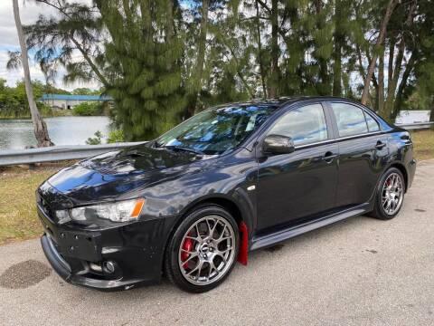 2013 Mitsubishi Lancer Evolution for sale at Import Haven in Davie FL