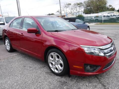 2010 Ford Fusion for sale at LEGACY MOTORS INC in New Port Richey FL