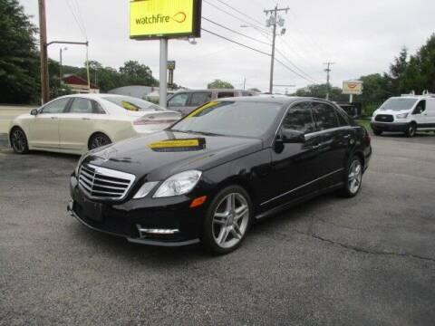 2013 Mercedes-Benz E-Class for sale at Mill Street Motors in Worcester MA