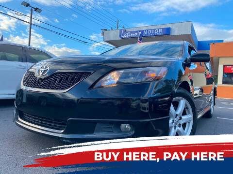 2008 Toyota Camry for sale at LATINOS MOTOR OF ORLANDO in Orlando FL