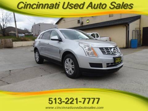 2014 Cadillac SRX for sale at Cincinnati Used Auto Sales in Cincinnati OH