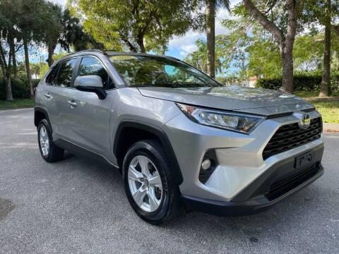 2020 Toyota RAV4 for sale at DELRAY AUTO MALL in Delray Beach FL