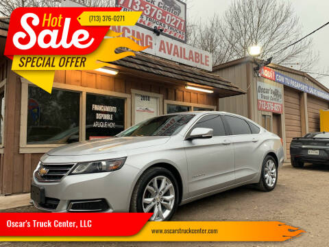 2016 Chevrolet Impala for sale at Oscar's Truck Center, LLC in Houston TX
