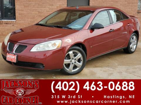 2008 Pontiac G6 for sale at Jacksons Car Corner Inc in Hastings NE