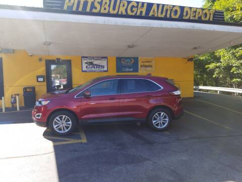 2017 Ford Edge for sale at Pittsburgh Auto Depot in Pittsburgh PA