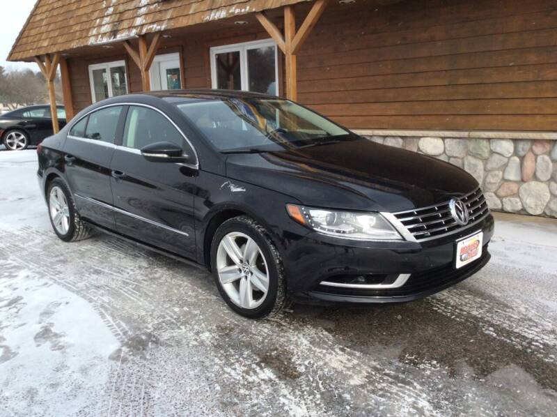 2015 Volkswagen CC for sale at MOTORS N MORE in Brainerd MN