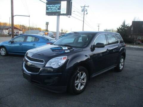 2015 Chevrolet Equinox for sale at Mill Street Motors in Worcester MA