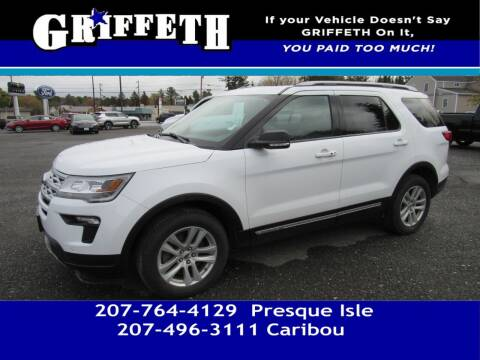 2019 Ford Explorer for sale at Griffeth Mitsubishi - Pre-owned in Caribou ME