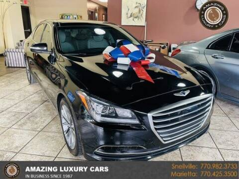 2015 Hyundai Genesis for sale at Amazing Luxury Cars in Snellville GA