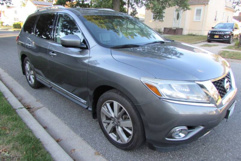 2015 Nissan Pathfinder for sale at First Choice Automobile in Uniondale NY