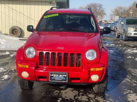 2002 Jeep Liberty for sale at Lewis Blvd Auto Sales in Sioux City IA