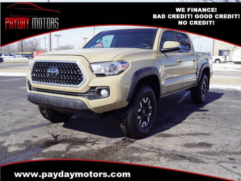 2018 Toyota Tacoma for sale at Payday Motors in Wichita And Topeka KS