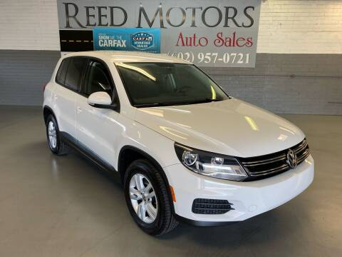 2013 Volkswagen Tiguan for sale at REED MOTORS LLC in Phoenix AZ