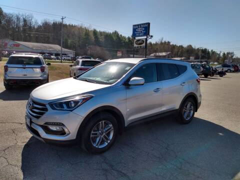 2017 Hyundai Santa Fe Sport for sale at Ripley & Fletcher Pre-Owned Sales & Service in Farmington ME