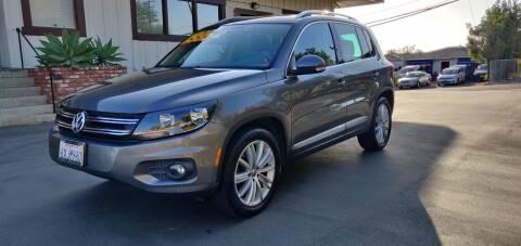2012 Volkswagen Tiguan for sale at Apollo Auto El Monte in El Monte CA