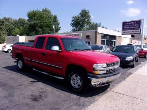 2002 Chevrolet Silverado 1500 for sale at Gregory J Auto Sales in Roseville MI