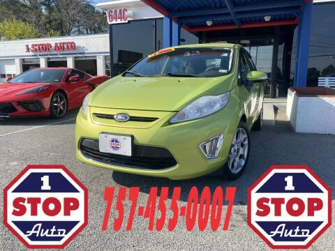 2011 Ford Fiesta for sale at 1 Stop Auto in Norfolk VA