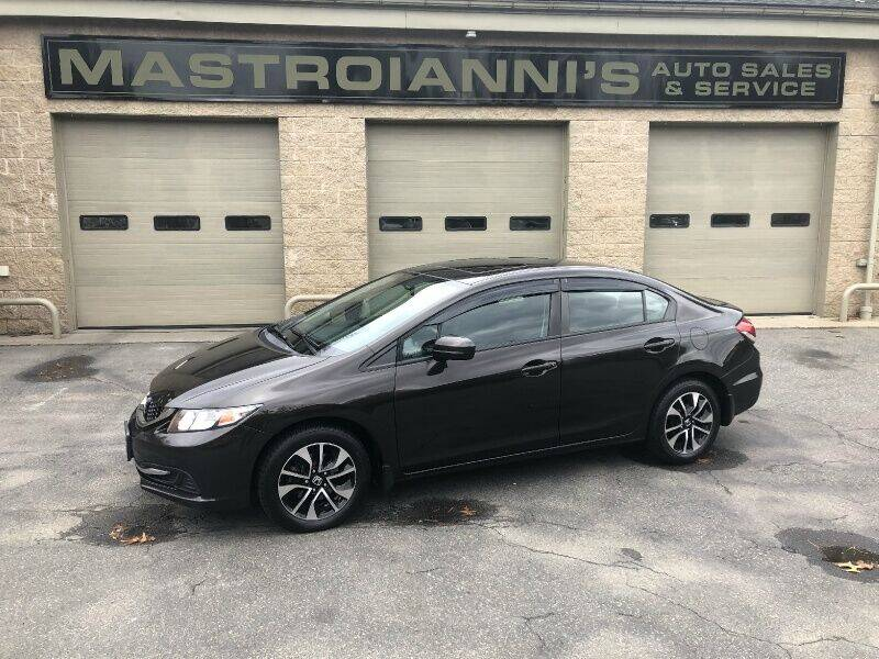 2014 Honda Civic for sale at Mastroianni Auto Sales in Palmer MA