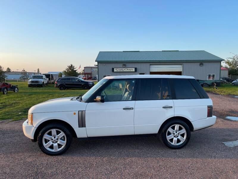 2004 Land Rover Range Rover for sale at Car Guys Autos in Tea SD