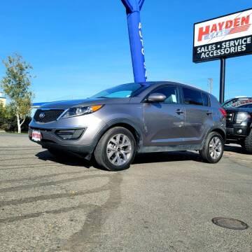 2015 Kia Sportage for sale at Hayden Cars in Coeur D Alene ID