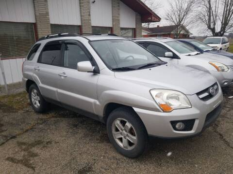 2009 Kia Sportage for sale at David Shiveley in Mount Orab OH