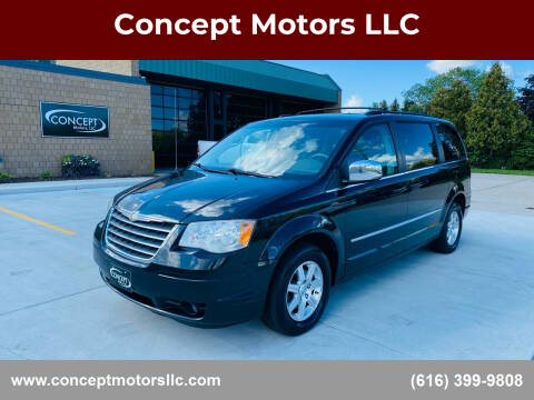2009 Chrysler Town and Country for sale at Concept Motors LLC in Holland MI