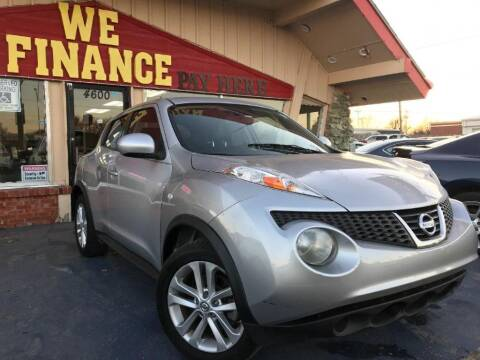 2013 Nissan JUKE for sale at Caspian Auto Sales in Oklahoma City OK