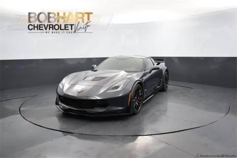 2017 Chevrolet Corvette for sale at BOB HART CHEVROLET in Vinita OK