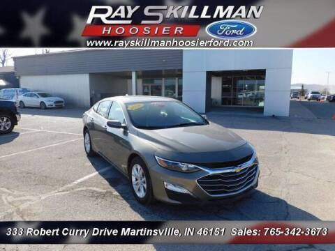 2020 Chevrolet Malibu for sale at Ray Skillman Hoosier Ford in Martinsville IN