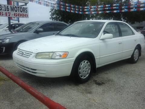 1999 Toyota Camry for sale at John 3:16 Motors in San Antonio TX
