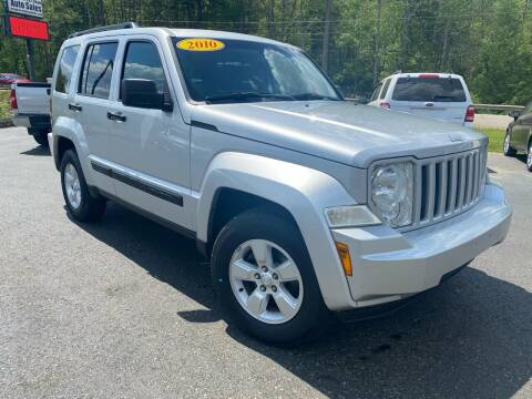 2010 Jeep Liberty for sale at Pine Grove Auto Sales LLC in Russell PA