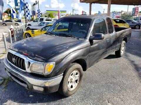 2001 Toyota Tacoma for sale at Global Motors in Hialeah FL