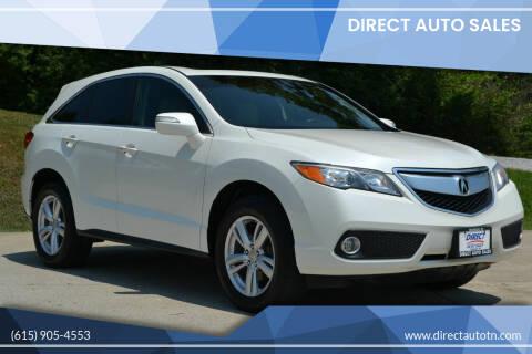 2014 Acura RDX for sale at Direct Auto Sales in Franklin TN