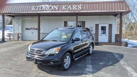2010 Honda CR-V for sale at Kidron Kars INC in Orrville OH