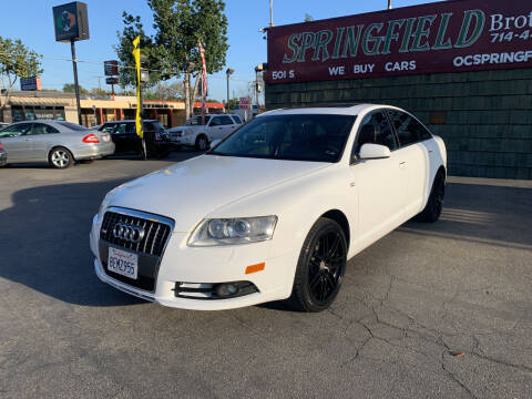 2008 Audi A6 for sale at SPRINGFIELD BROTHERS LLC in Fullerton CA