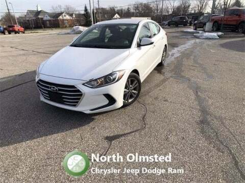 2018 Hyundai Elantra for sale at North Olmsted Chrysler Jeep Dodge Ram in North Olmsted OH